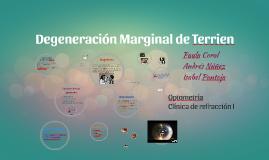 Degeneración Marginal de Terrien