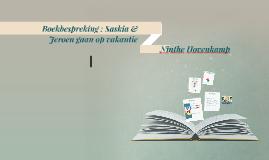 Boekbespreking : Saskia & Jeroen gaan op vakantie