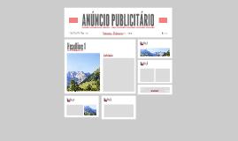 ANÚNCIO PUBLICITÁRIO