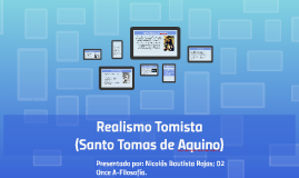 Copy of Realismo Tomista