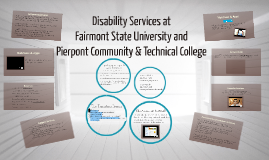 Disability Services at FSU and Pierpont