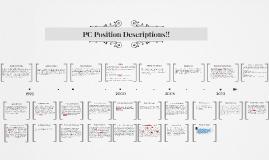 PC Position Descriptions!!