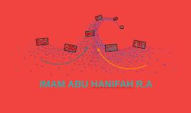 IMAM ABU HANIFAH R.A