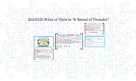 foreshadowing in a sound of thunder by alejandro mujica 20141120 point of view in a sound of thunder