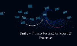 BTEC Sport L3 Unit 7: Fitness testing for Sport & Exercise