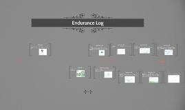 Endurance Log