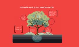 GESTIÓN BASICA DE LA INFORMACIÓN