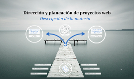 Diseño y planeación de proyectos web