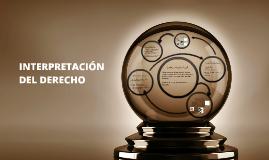 INTERPRETACIÓN DEL DERECHO