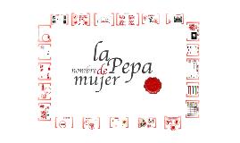 La Pepa, nombre de mujer