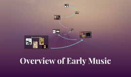 Overview of Early Music