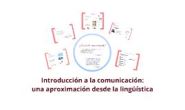 Introducción a la comunicación - S y B