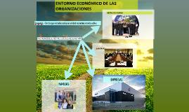 ENTORNO ECONÓMICO DE LAS ORGANIZACIONES