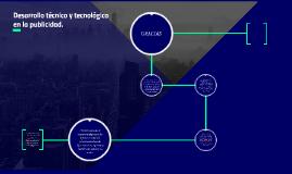 Desarrollo técnico y tecnológico en la publicidad.