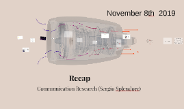 Communication Research (III module)