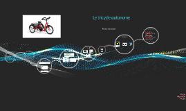 Projet tricycle autonome
