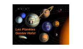 Copy of Les Planètes