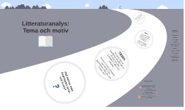 Analys: tema & motiv