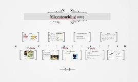 Microteaching 2015