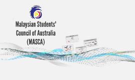 Malaysian Students' Council of Australia (MASCA)