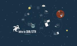 SBIR/STTR Overview 2019
