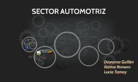 Copy of SECTOR AUTOMOTRIZ