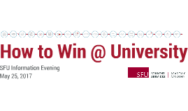 How to Win at University