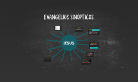 Copia de EVANGELIOS SINÓPTICOS