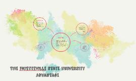 The Fayetteville State University Advantage:
