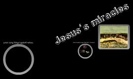 jesus's miracles