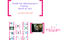 Copy of Copy of Copy of STAAR Admin Training