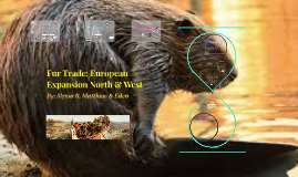 Fur Trade: European Expansion North & West