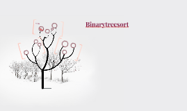 Binarytreesort