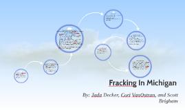 Fracking In Michigan