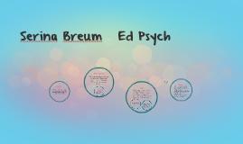 Serina Breum   Ed Psych