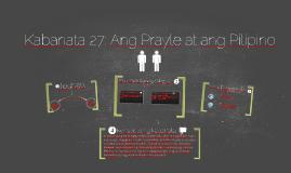 Copy of Kabanata 27: Ang Prayle at ang Pilipino