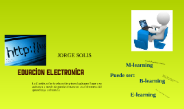 Eduacion electronica