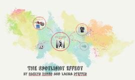 The Spotlight Effect