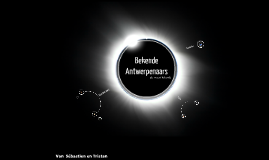 Bekende Antwerpenaars