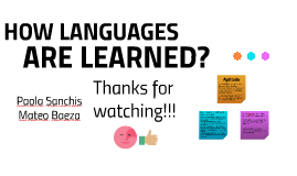 HOW LANGUAGES