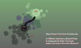 Masa Depan Terorisme