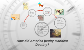 How does America justify Manifest Destiny?
