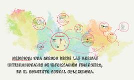 MEDICION: UNA MIRADA DESDE LAS NORMAS INTERNACIONALES DE INF