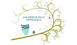 Copy of LOS REINOS DE LA NATURALEZA