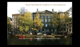 KNAW | Building Science Awareness