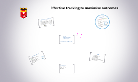 Effective tracking to maximise outcomes