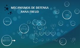 Copy of MECANISMOS DE DEFENSA ANNA FREUD