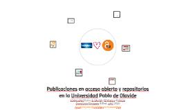 Publicaciones en acceso abierto y repositorios en la Universidad Pablo de Olavide