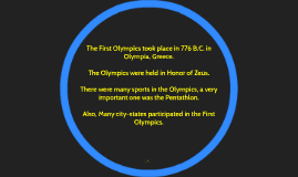 The Ancient Greek Olympics