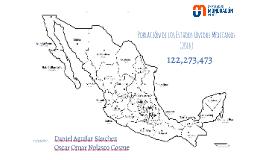 Población de los Estados Unidos Mexicanos (2017)